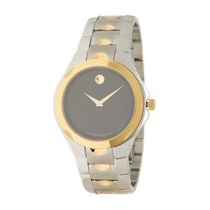 Movado Men's Swiss Quartz Two-Tone Bracelet Watch